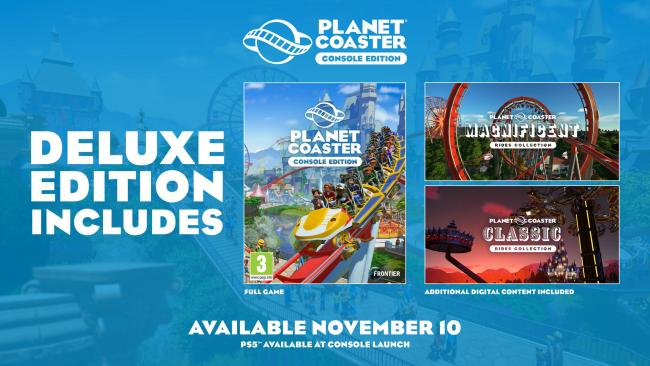 Planet Coaster: Console Deluxe Edition