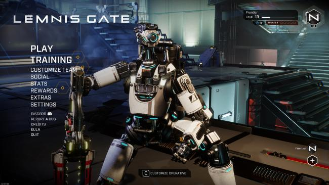 Lemnis Gate - Title Screen - Ranked